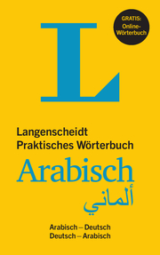 Langenscheidt Praktisches Wörterbuch Arabisch - Buch mit Online-Anbindung