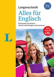 Langenscheidt Alles für Englisch - '3 in 1': Kurzgrammatik, Grammatiktraining und Verbtabellen