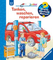 Tanken, waschen, reparieren