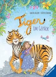 Tiger im Gepäck - Cover