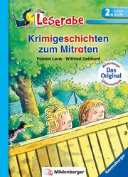 Krimigeschichten zum Mitraten - Leserabe 2. Klasse - Erstlesebuch für Kinder ab 7 Jahren