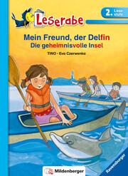 Mein Freund, der Delfin. Die geheimnisvolle Insel - Leserabe 2. Klasse - Erstlesebuch für Kinder ab 7 Jahren