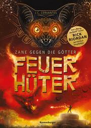 Zane gegen die Götter 2 - Feuerhüter - Cover
