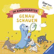 Im Kindergarten: Genau schauen - Cover