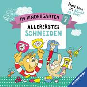 Im Kindergarten: Allererstes Schneiden - Cover