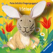 Mein liebstes Fingerpuppenbuch: Hallo, kleiner Hase! - Cover