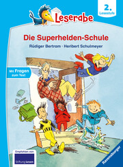 Die Superhelden-Schule - Cover