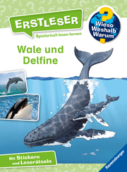 Wieso? Weshalb? Warum? Erstleser: Wale und Delfine - Cover