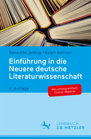 Einführung in die Neuere deutsche Literaturwissenschaft