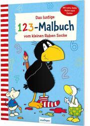 Das lustige 1 2 3-Malbuch vom kleinen Raben Socke