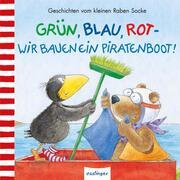 Grün, Blau, Rot - wir bauen ein Piratenboot!