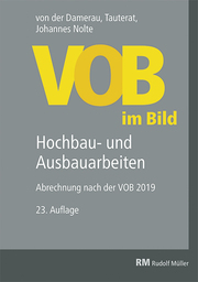 VOB im Bild - Hochbau- und Ausbauarbeiten