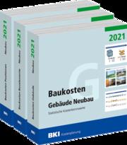 BKI Baukosten Neubau 2021 Bd 1-3