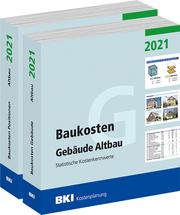 BKI Baukosten Gebäude + Positionen Altbau 2021