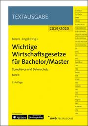 Wichtige Wirtschaftsgesetze für Bachelor/Master 3