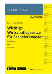 Wichtige Wirtschaftsgesetze für Bachelor/Master 1