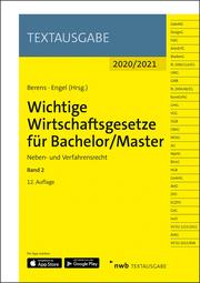 Wichtige Wirtschaftsgesetze für Bachelor/Master 2
