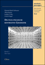 Deutsch-polnische kontrastive Grammatik 2