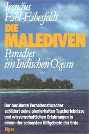 Die Malediven - Cover