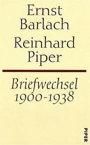 Briefwechsel 1900-1938
