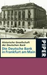 Die Deutsche Bank in Frankfurt am Main
