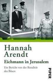 Eichmann in Jerusalem - Cover