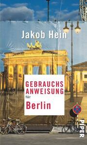 Gebrauchsanweisung für Berlin - Cover