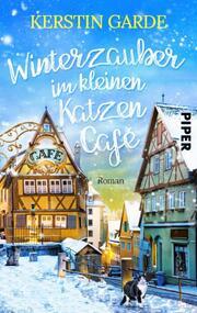 Winterzauber im kleinen Katzen-Café