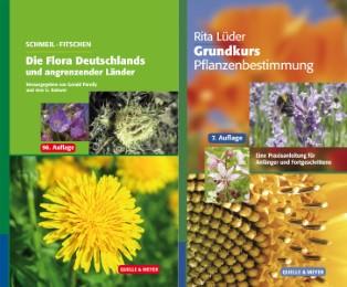 Schmeil-Fitschen: Die Flora Deutschlands und der angrenzenden Länder/Grundkurs Pflanzenbestimmung - Cover