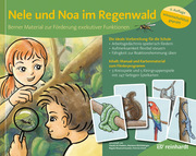 Nele und Noa im Regenwald