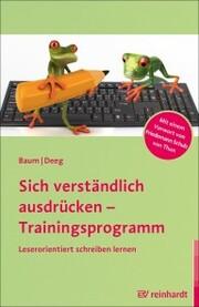 Sich verständlich ausdrücken - Trainingsprogramm - Cover