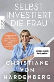 Selbst investiert die Frau