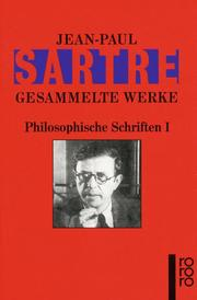 Philosophische Schriften I