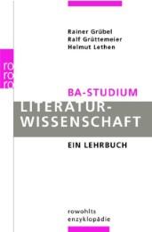BA-Studium: Literaturwissenschaft