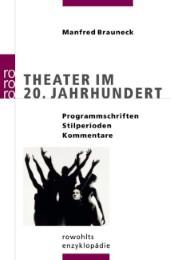Theater im 20.Jahrhundert