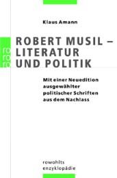 Robert Musil - Literatur und Politik