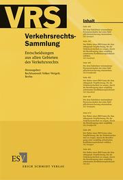 Verkehrsrechts-Sammlung (VRS) 115