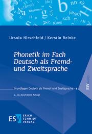 Phonetik im Fach Deutsch als Fremd- und Zweitsprache