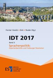 IDT 2017, Band 3