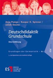 Deutschdidaktik Grundschule - Cover