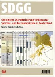 Geologische Charakterisierung tiefliegender Speicher- und Barrierehorizonte in Deutschland - Speicher-Kataster Deutschland