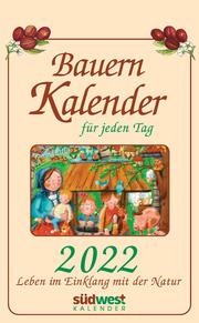 Bauernkalender für jeden Tag 2022 - Cover