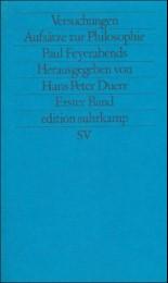 Versuchungen-Aufsätze zur Philosophie Paul Feyerabends 1