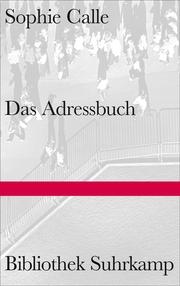Das Adressbuch - Cover
