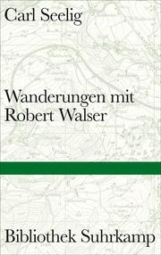 Wanderungen mit Robert Walser - Cover