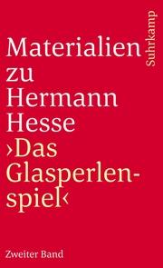 Materialien zu Hermann Hesses 'Das Glasperlenspiel'