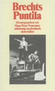 Brechts 'Herr Puntila und sein Knecht Matti'