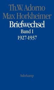Briefwechsel 1927-1937