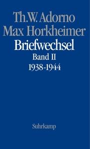 Briefwechsel 1938-1944