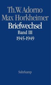 Briefwechsel 1945-1949